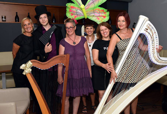 Lumiere Tales, Ivan Solas, harp Festival