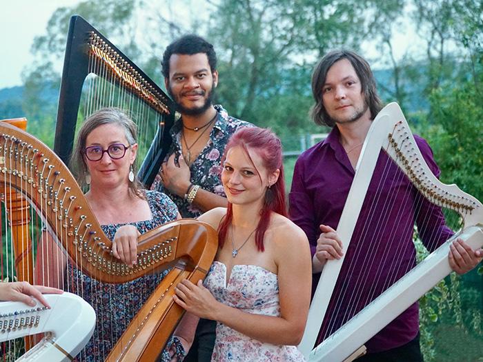 Lumiere Tales, Ivan Solas, harp Festival, harpists, Calvine Arsenia