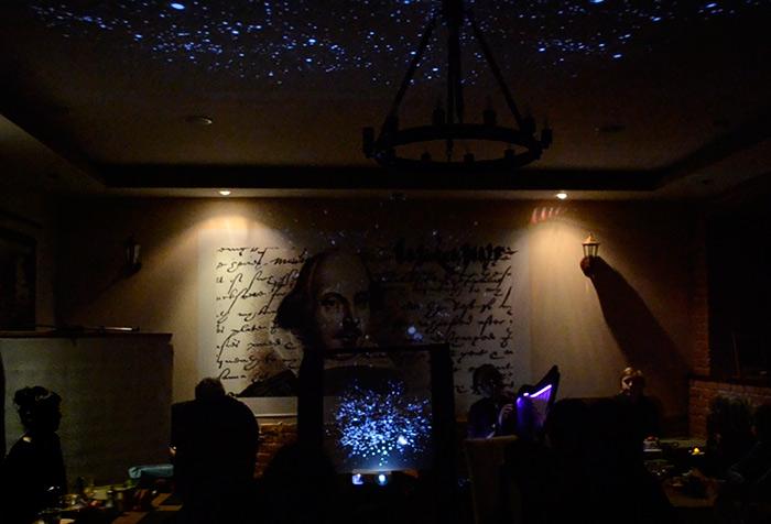 Visual music, hologram